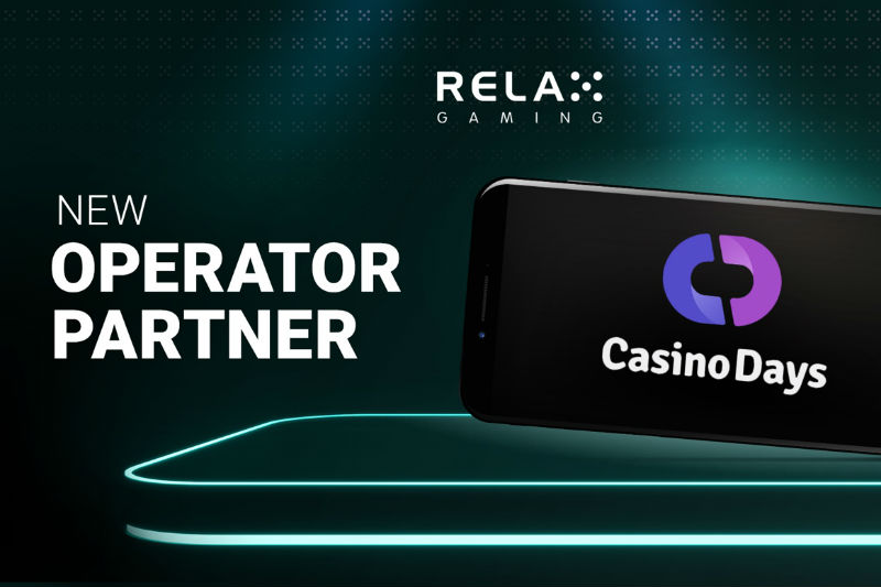 Relax Gaming Unveils Content Supply Deal with Casino Days