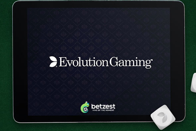 Betzest Adds Evolution Live Casino Content to Spur Growth